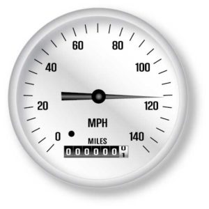 Stunt Driving Speedometer